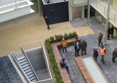 WY. Architecten - binnenhof zorgwoningen Zernikeborgh Hengelo