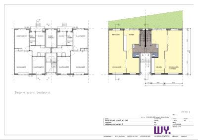 WY. Architecten - transformatie portiekwoningen