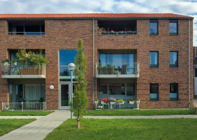 WY. Architecten - seniorenappartementen Heugemerhof