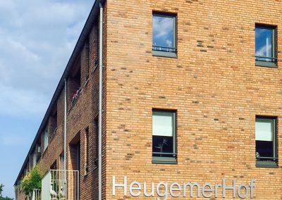 WY. Architecten - hoekaanzicht seniorenappartementen Heugemerhof