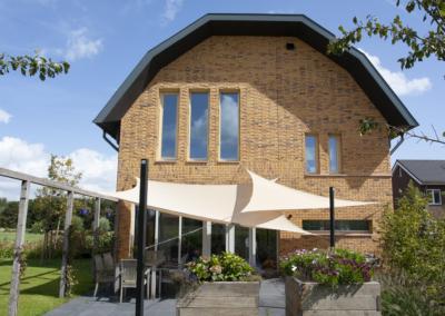 WY. Architecten - achterkant woonhuis Wagenberg
